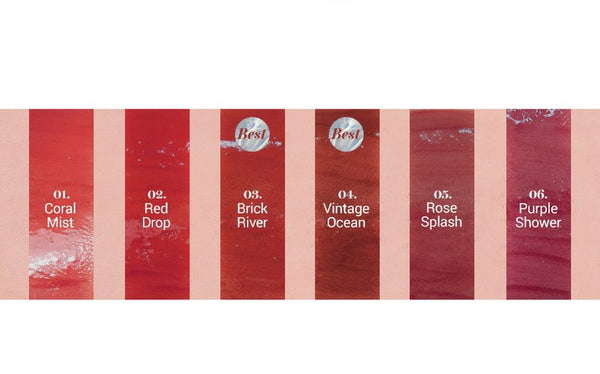 romand - Glasting Water Tint - 8 Colors