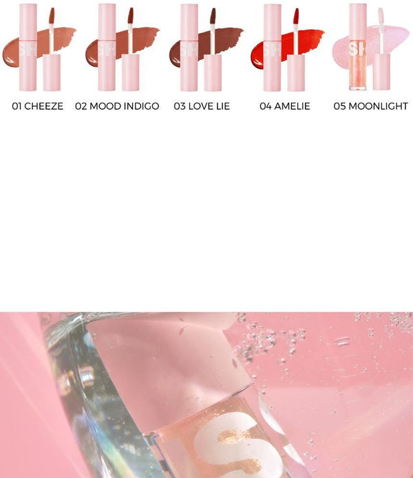 BLESSED MOON - Fluffy Lip Tint - 5 Colors