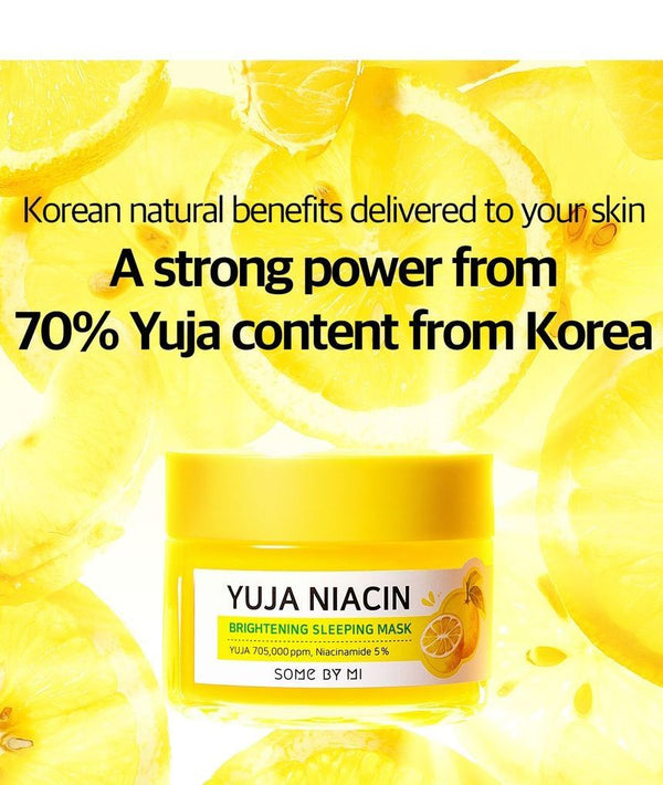 SOME BY MI - Yuja Niacin Brightening Sleeping Mask MINI