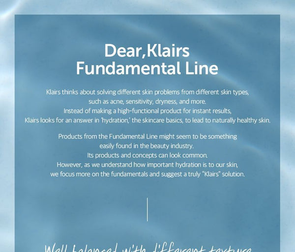 Dear, Klairs - Fundamental Eye Awakening Gel