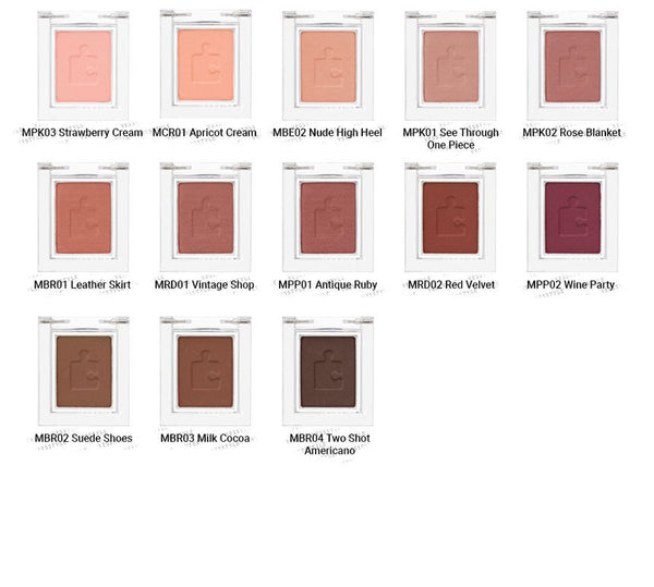 HOLIKA HOLIKA - Piece Matching Shadow MATT - 23 Colors