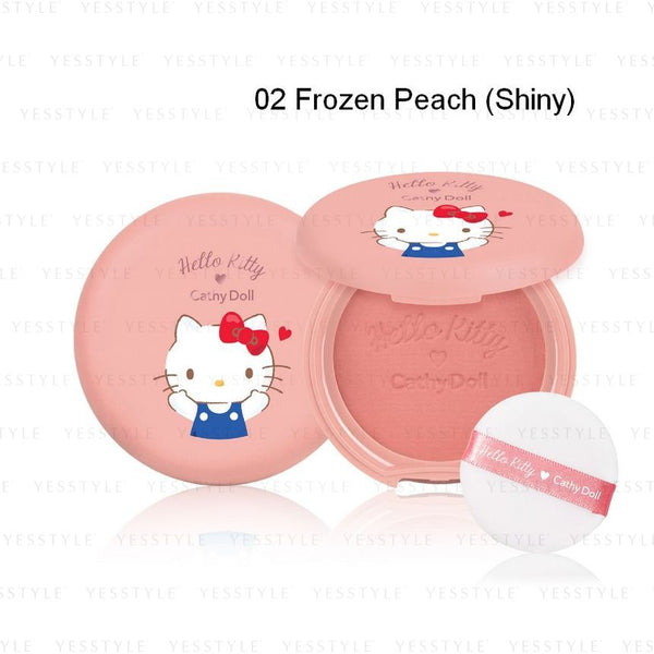 Cathy Doll - Hello Kitty Cotton Blusher 6.5g - 3 Types