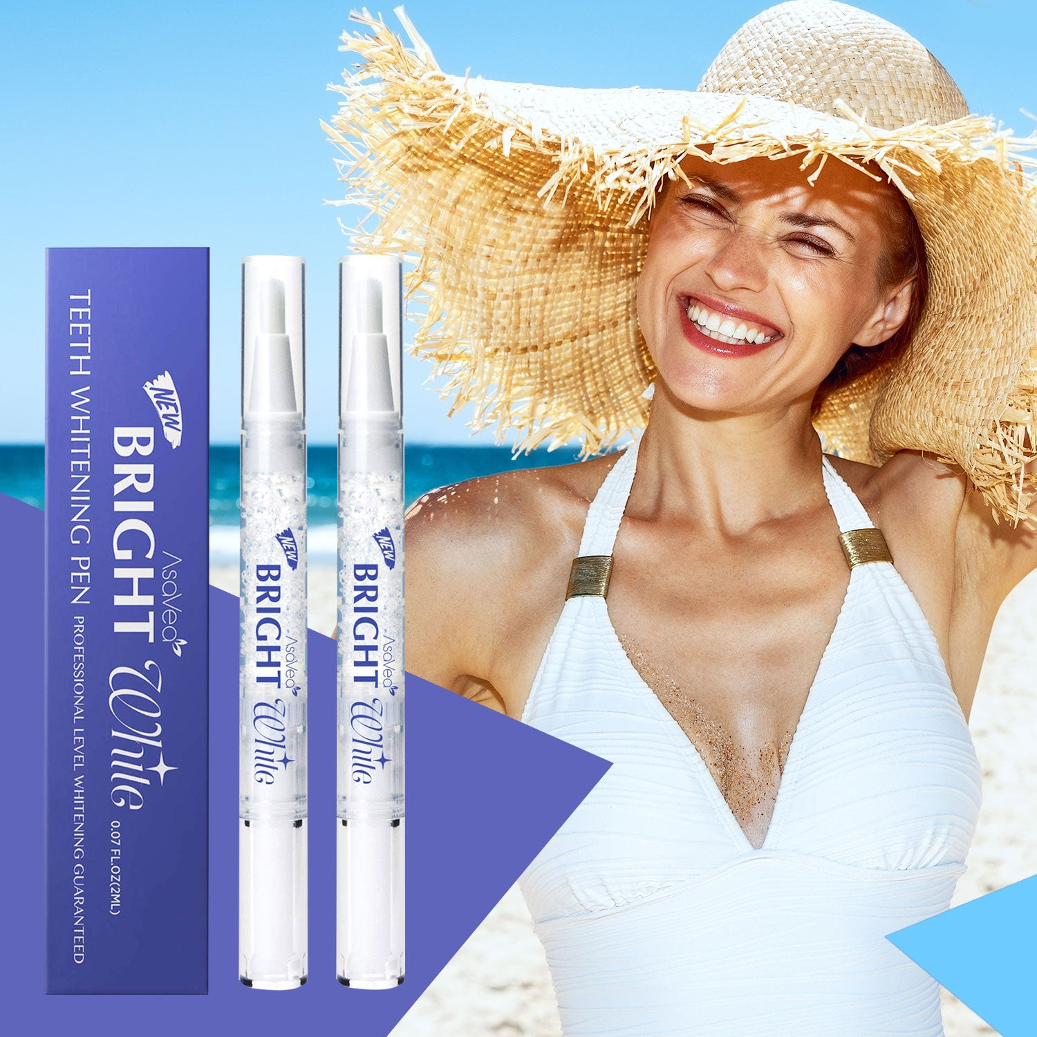 Asavea Teeth Whitening Pen 2 Pens More Than 20 Uses Ezyshoppee