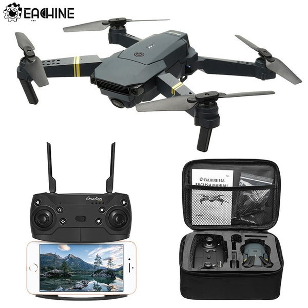 Mini Drone WIFI FPV Profesional With 720P/1080P Wide Angle HD Camera Foldable Arm Racing Dron Toys
