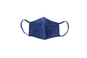 REUSABLE NAVY BLUE FACE MASK