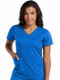 7472 MOCK WRAP TOP - All About Scrubs llc