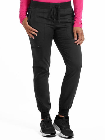 7710 JOGGER YOGA PANT (Size:XS/P-XL/P) - All About Scrubs llc