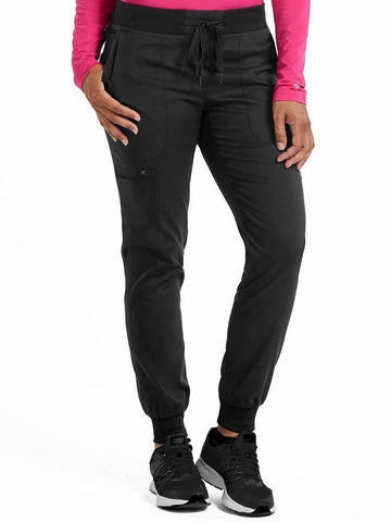 7710 JOGGER YOGA PANT (Size:XS-3X) - All About Scrubs llc