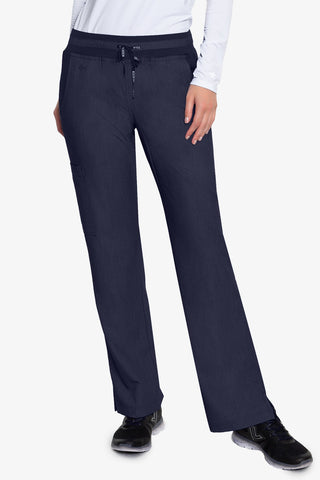 7789 YOGA 1 CARGO POCKET PANT (Indigo Heather) - All About Scrubs llc