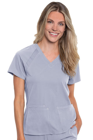8470 RAGLAN TOP - All About Scrubs llc