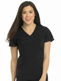 8587 V-NECK 3 POCKET TOP (2X-3X) - All About Scrubs llc