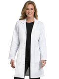 8608 3 POCKET LONG LENGTH LAB COAT - All About Scrubs llc