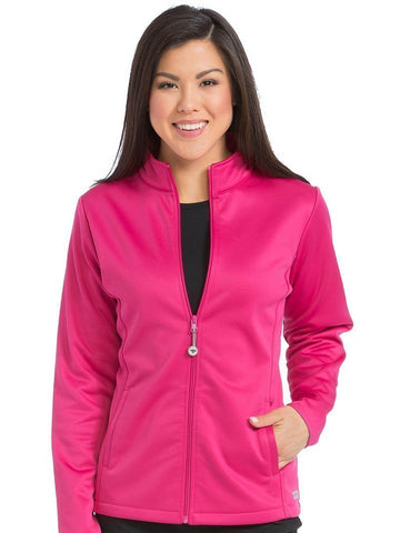 8684 PERFORMANCE FLEECE JACKET - All About Scrubs llc
