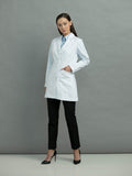 9644 TAILORED MID LENGTH LAB COAT - All About Scrubs llc