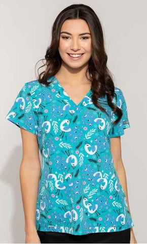8564 Peacock (PEAK) - All About Scrubs llc