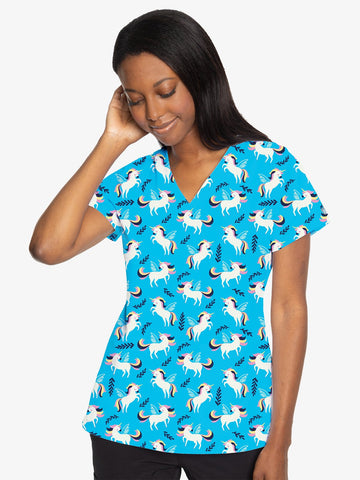 8564 Unicorn (FLIT) - All About Scrubs llc