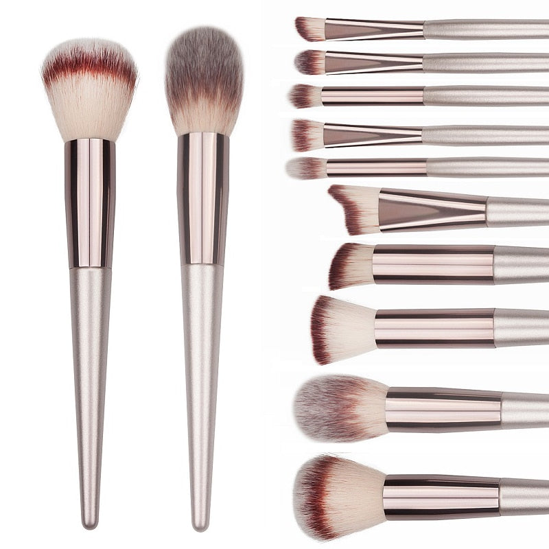 Wooden Make Up Brush Set - Advanced BeautyStore