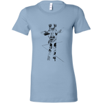 Load image into Gallery viewer, Giraffe on the Road T-shirt for Women