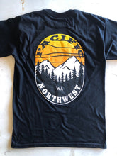Load image into Gallery viewer, Men's PNW Sunset Tee