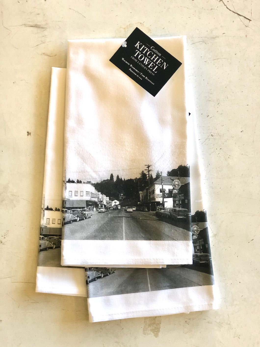 Historic Port Orchard Photo Kitchen Towel