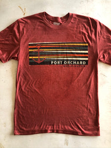 Men's Retro Anchor Port Orchard Tee