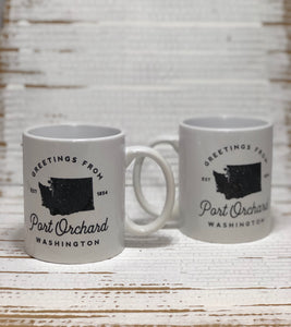 Copy of Greetings from Port Orchard 11oz. Mug