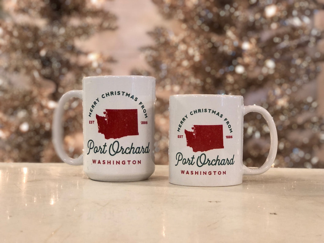Merry Christmas from Port Orchard Mugs