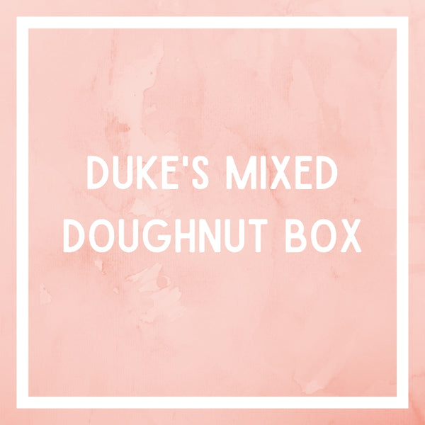 Mixed Doughnut Box from Dukes Doughnuts Port Douglas