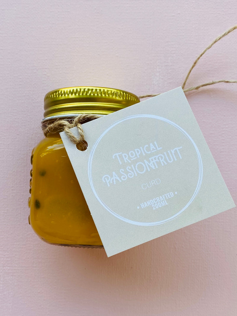 Tropical Passionfruit Curd
