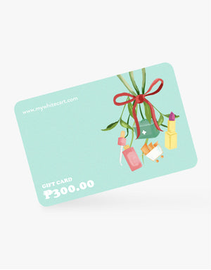 My White Cart Gift Card