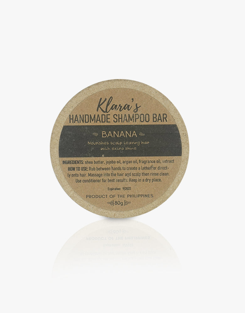 Banana Shampoo Bar