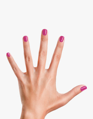 Load image into Gallery viewer, Glamour Girl: Purple Shimmery Nail Polish