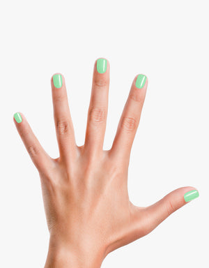 Mint To Be: Matte Light Green Nail Polish