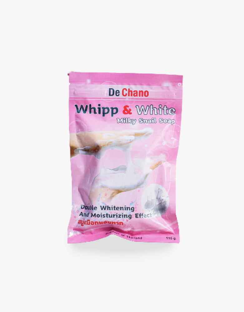 Whipp and White Milky Snail Soap