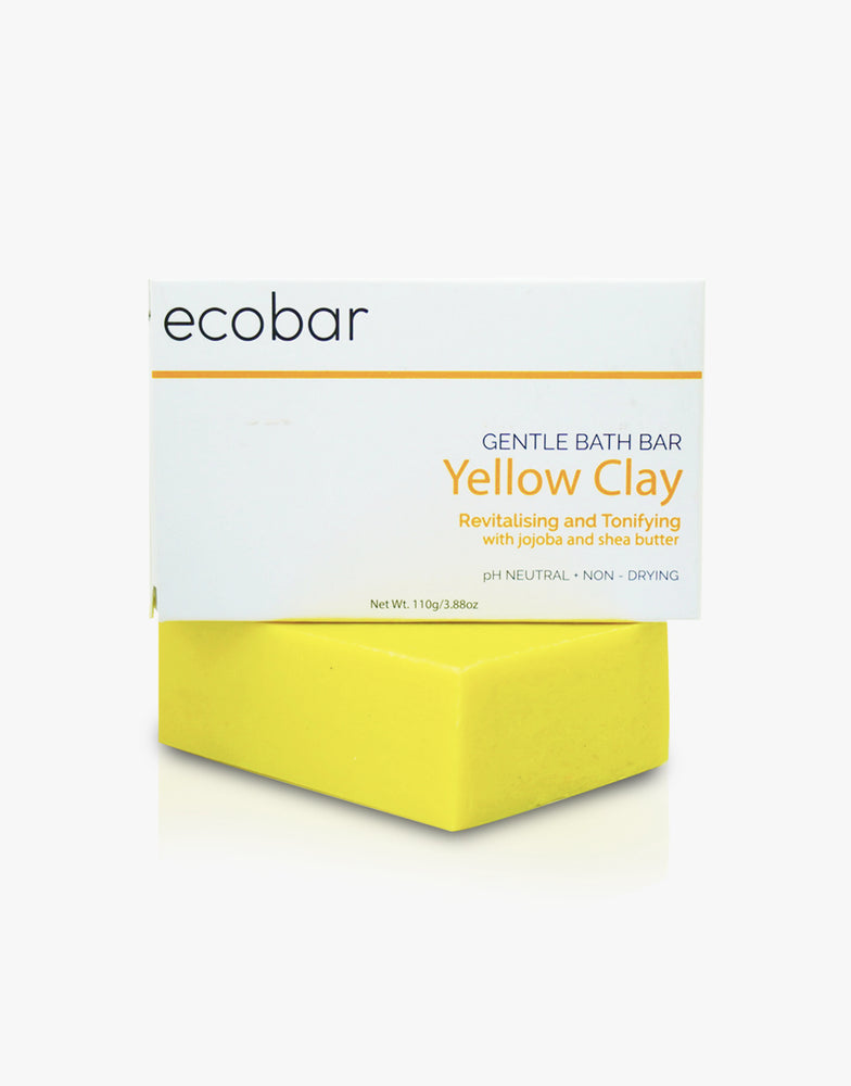 Yellow Clay Bath Bar