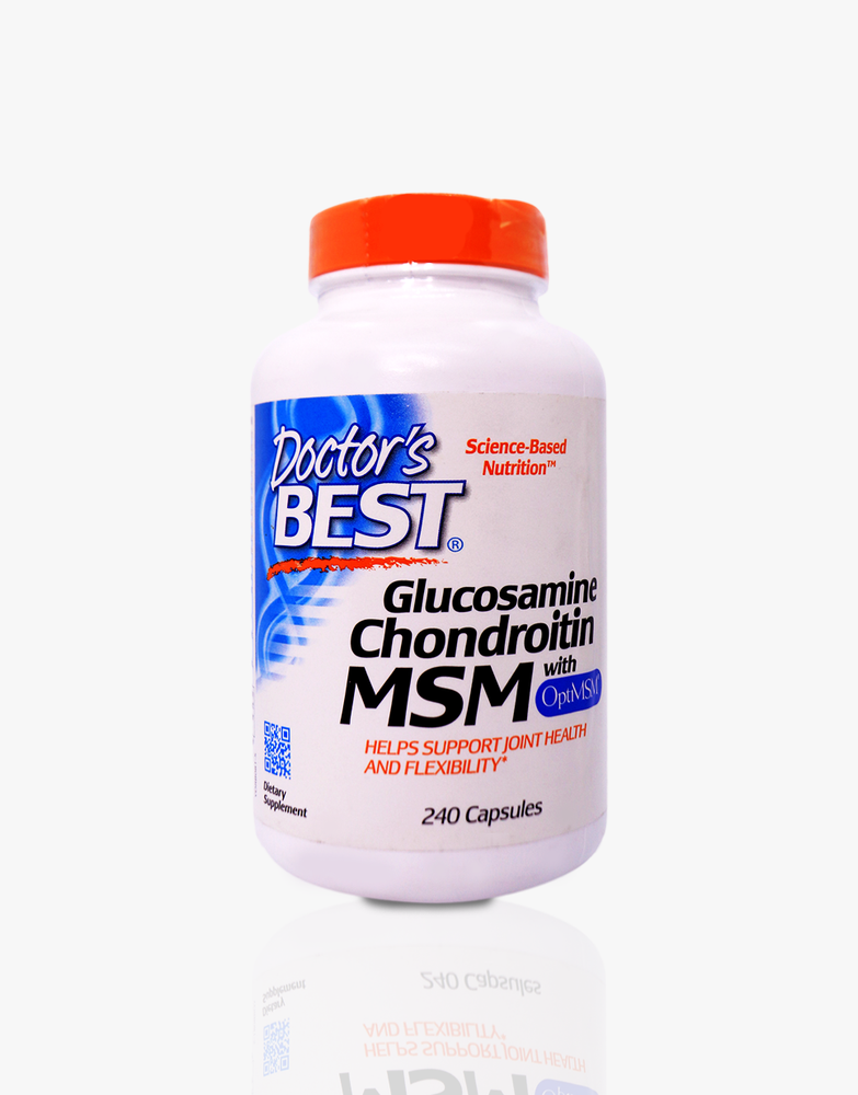Load image into Gallery viewer, Glucosamine Chondroitin MSM with OptiMSM
