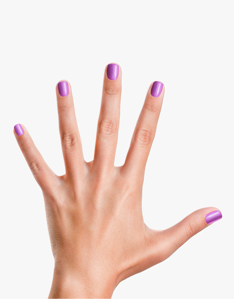 Girls Rule!: Shimmery Purple Nail Polish