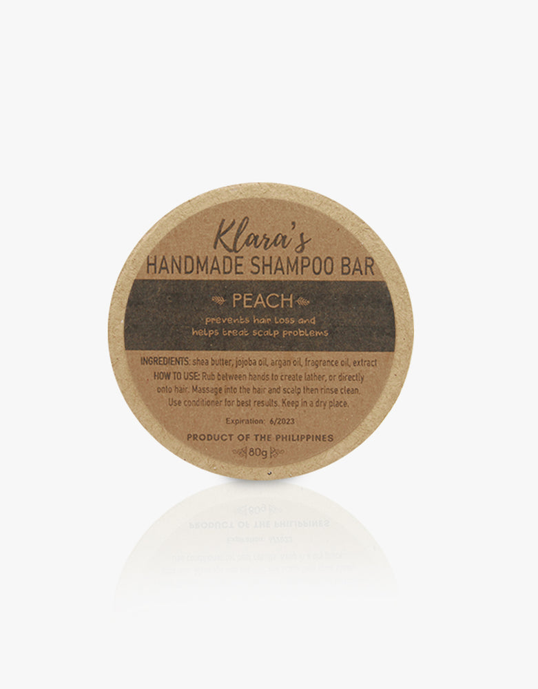 Peach Shampoo Bar