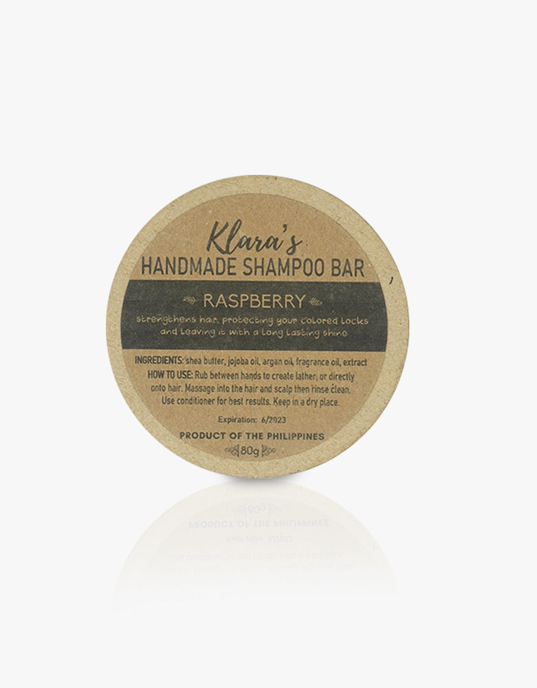 Raspberry Shampoo Bar