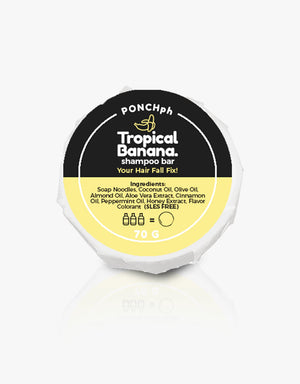 Load image into Gallery viewer, Tropical Banana Hairfall Prevention Shampoo Bar