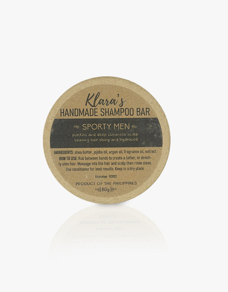 Sporty Men Shampoo Bar