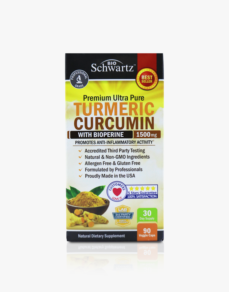 Turmeric Curcumin with Bioperine - 1500mg