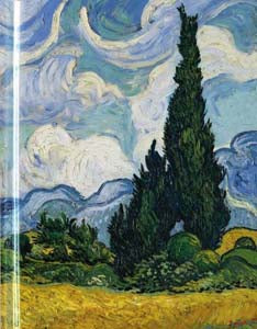 Van Gogh: Wheatfield With Cypresses Sketch Book (FTSB50)