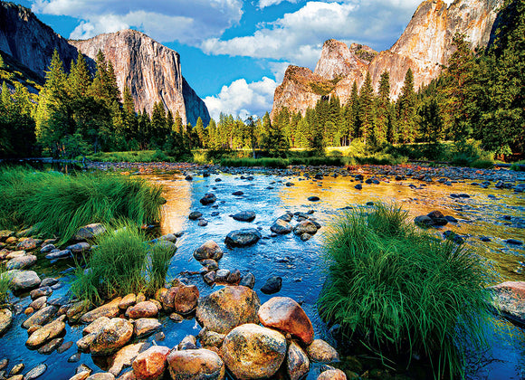 Yosemite National Park California 1000 Piece Puzzle