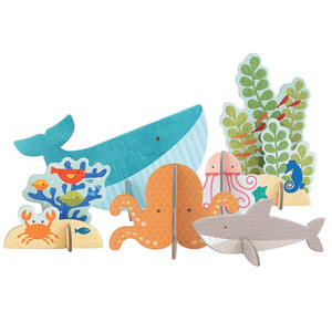 Pop-Out and Build Ocean Playset