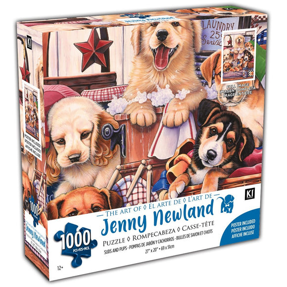 Suds and Pups Newland 1000 Piece Puzzle