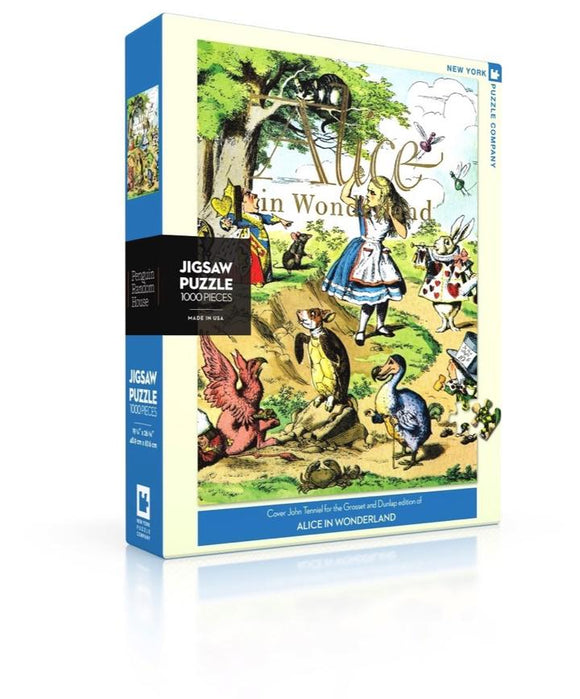 Alice in Wonderland 1000 Piece Puzzle
