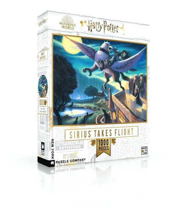 Sirius Takes Flight: Harry Potter 1000 Piece Puzzle