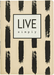 Live Simply Soft Cover Journal