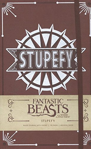 Stupefy Hardcover Ruled Journal (Fantastic Beasts)
